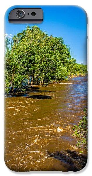 Cache La Poudre River Flooding iPhone Case by Jon Burch Photography