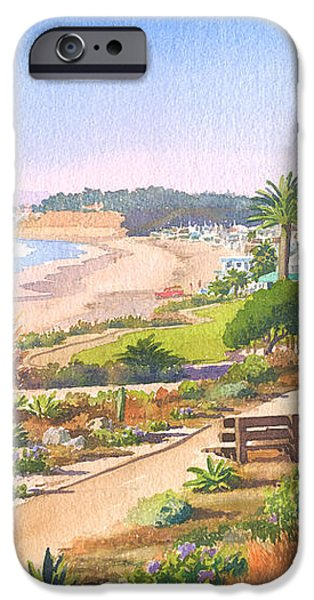 Cactus Garden at Powerhouse Beach iPhone Case by Mary Helmreich