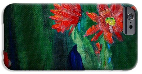 Plants Sculptures iPhone Cases - Cactus in Bloom iPhone Case by Dan Redmon