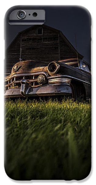 Old Cars iPhone Cases - Caddy  iPhone Case by Arkadiusz Ziomek