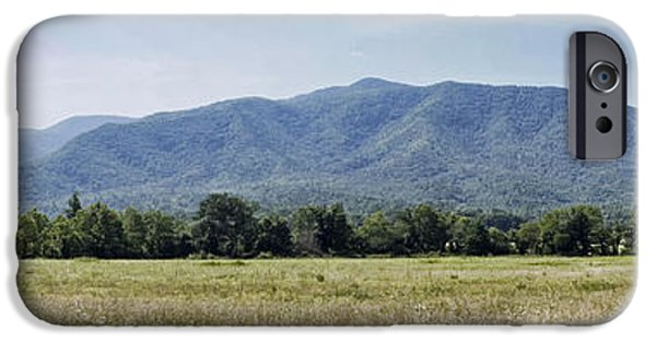July iPhone Cases - Cades Cove in the Great Smoky Mountains iPhone Case by Cricket Hackmann