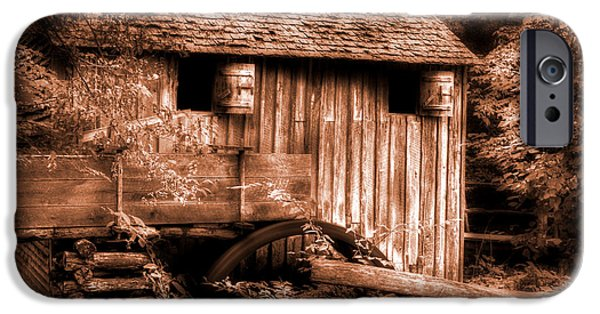 Grist Mill iPhone Cases - Cades Cove Mill iPhone Case by Michael Eingle