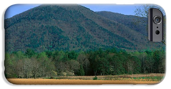 Tn Barn iPhone Cases - Cades Cove Pioneer Settlement, Great iPhone Case by Panoramic Images