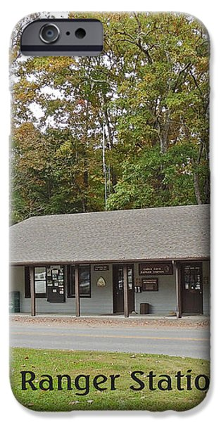 Cades Cove Ranger Station iPhone Case by Marian Bell