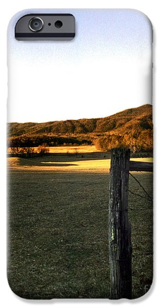 CADES COVE iPhone Case by Skip Willits