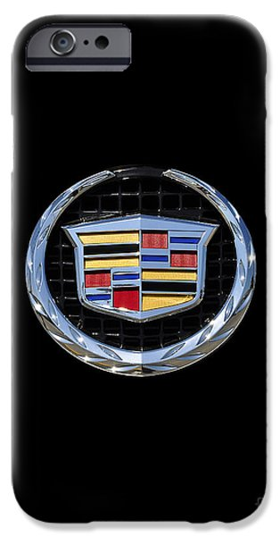 Fine Art Photo iPhone Cases - Cadillac Chrome iPhone Case by Al Powell Photography USA