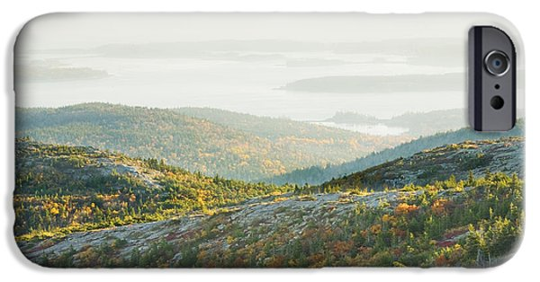 Down East iPhone Cases - Cadillac Mountain - Acadia National Park - Autumn Maine iPhone Case by Keith Webber Jr