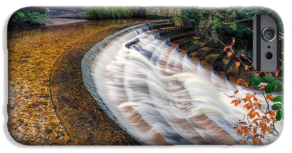 Power iPhone Cases - Caeau Weir iPhone Case by Adrian Evans