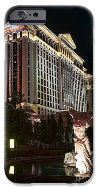Caesar's Palace iPhone Case by Eddie Yerkish