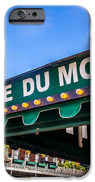 Cafe Du Monde Picture in New Orleans Louisiana iPhone Case by Paul Velgos