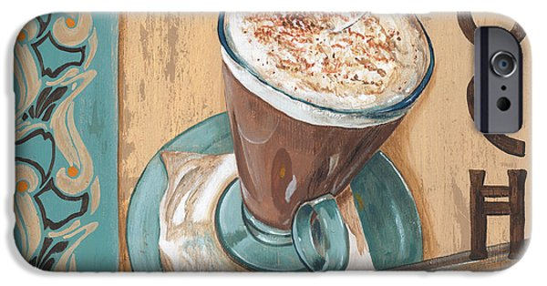Spoon iPhone Cases - Cafe Nouveau 1 iPhone Case by Debbie DeWitt