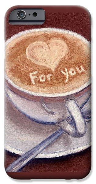 Caffe Latte iPhone Case by Anastasiya Malakhova