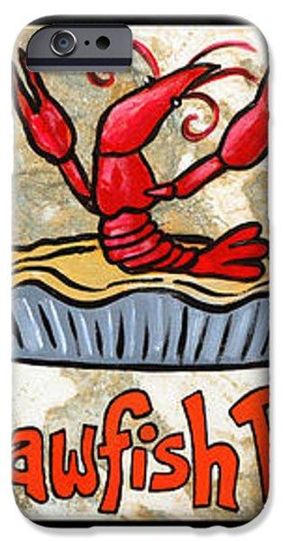 Cajun Food Trio iPhone Case by Elaine Hodges