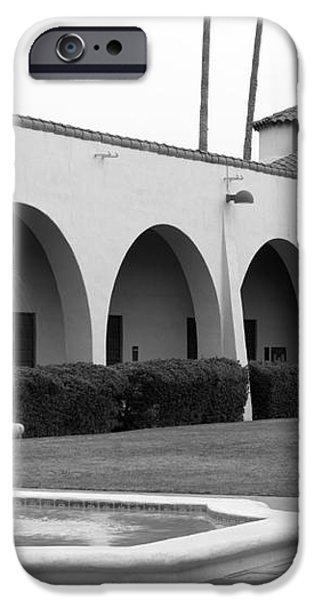Cal Poly Pomona Union Plaza iPhone Case by University Icons