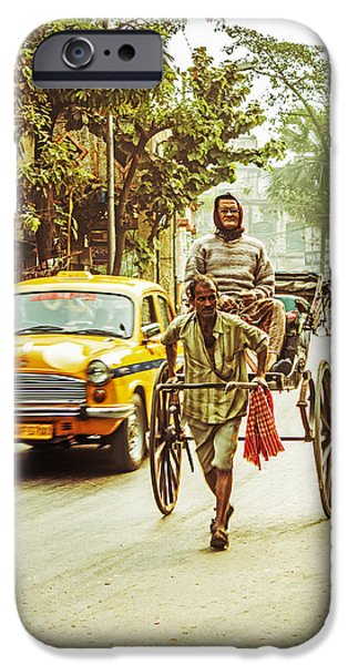 Calcutta iPhone Case by Vandana Dev