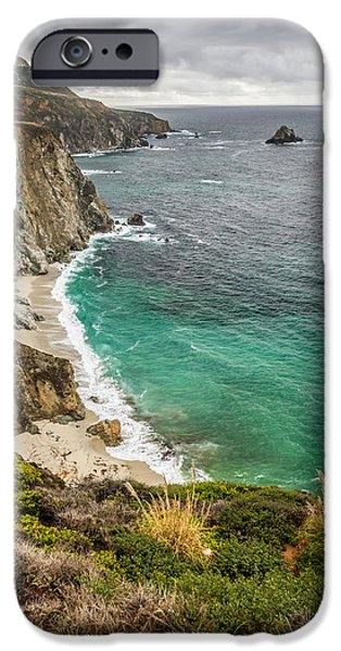 California coast iPhone Case by Pierre Leclerc Photography