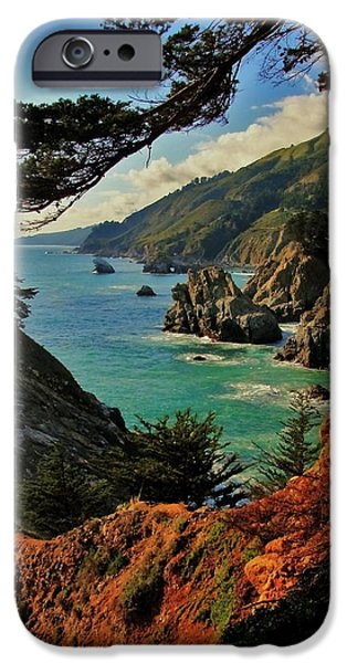 California Coastline iPhone Case by Benjamin Yeager