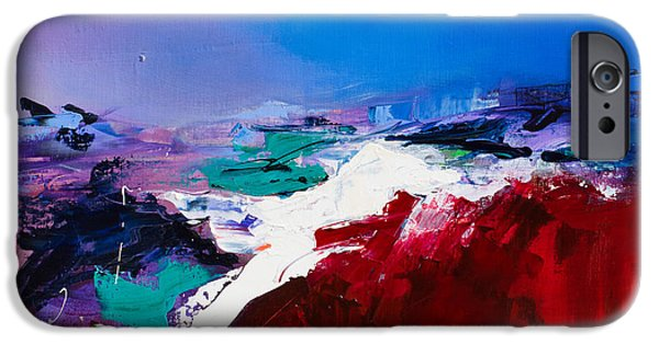 Home Paintings iPhone Cases - Call of the Canyon iPhone Case by Elise Palmigiani