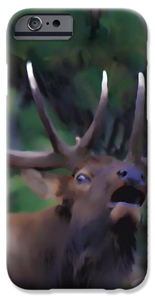 Call of the Wild iPhone Case by Shane Bechler