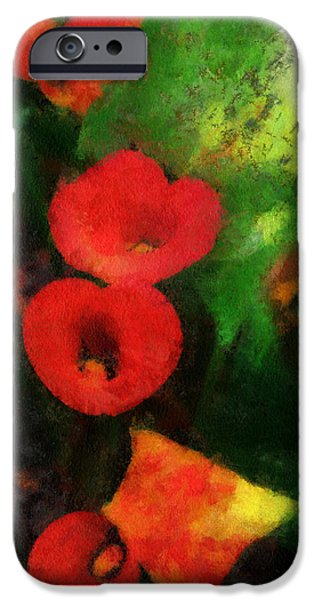 Calla Lilies Photo Art 03 iPhone Case by Thomas Woolworth