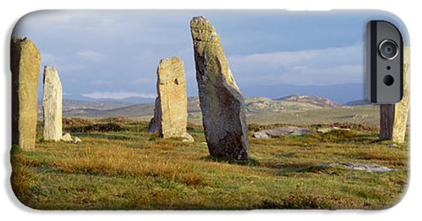 Great Mysteries iPhone Cases - Callanish Stones, Isle Of Lewis, Outer iPhone Case by Panoramic Images