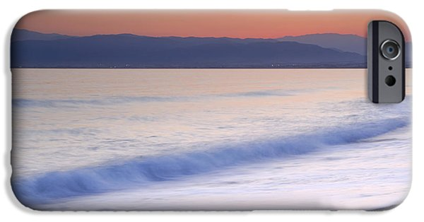 Beach Landscape iPhone Cases - Calm at the beach iPhone Case by Guido Montanes Castillo
