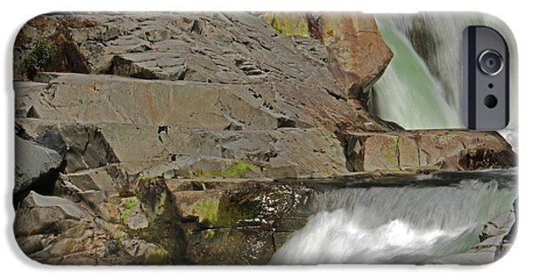 Creek iPhone Cases - Calm before the Storm iPhone Case by Brad Walters