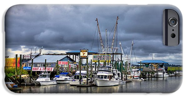 Tybee Island iPhone Cases - Calm Before the Storm iPhone Case by Reid Callaway