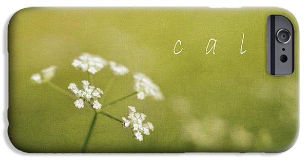 Porridge iPhone Cases - Calm iPhone Case by Elena Nosyreva