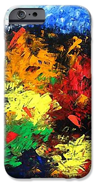 Sacrifice Mixed Media iPhone Cases - Calvary Hill iPhone Case by Kume Bryant