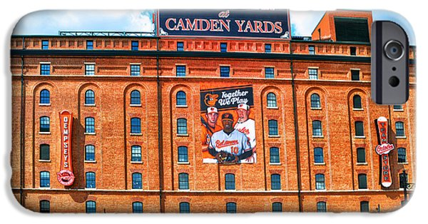 Camden Yards Stadium iPhone Cases - Camden Yards iPhone Case by Bill Cannon