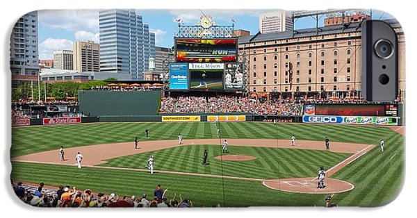 Camden Yards iPhone Cases - Camden Yards iPhone Case by Ross Ansel