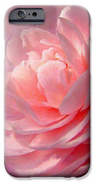 Camellia iPhone Case by Carol Cavalaris