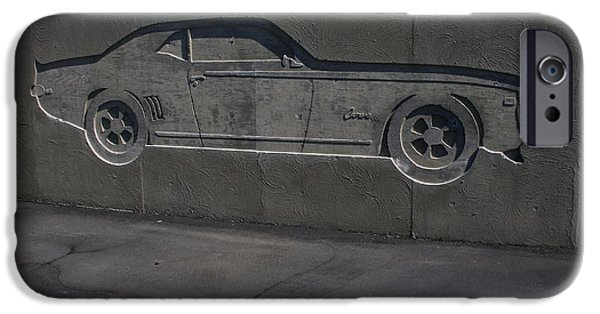Cars Reliefs iPhone Cases - Camero Two iPhone Case by Douglas Settle