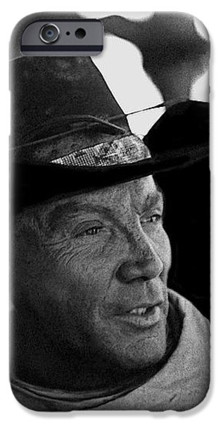 Cameron Mitchell The High Chaparral iPhone Case by David Lee Guss