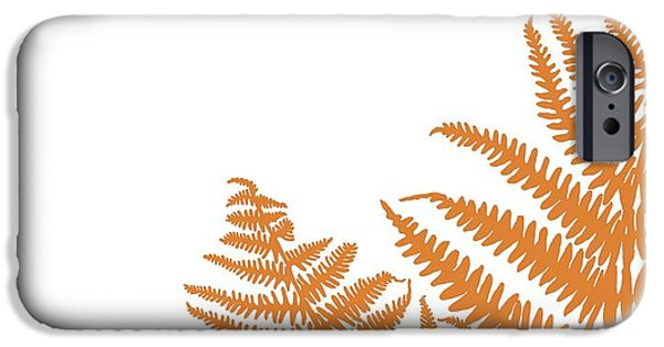 Fallen Leaf iPhone Cases - Camp Bracken iPhone Case by Sarah Hough