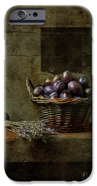 Antiques iPhone Cases - Campagnard - Rustic Still Life - s03at01 iPhone Case by Variance Collections