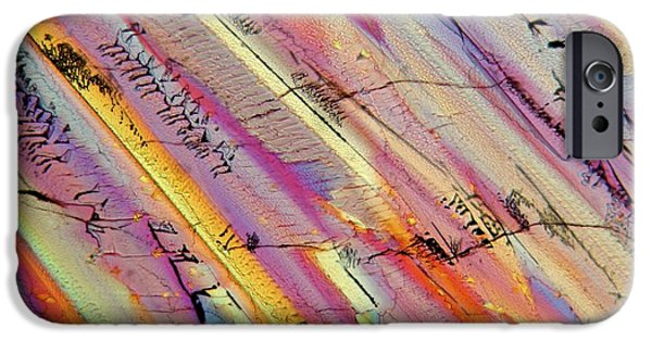 Nature Abstracts iPhone Cases - Campari 20 iPhone Case by Bernardo Cesare
