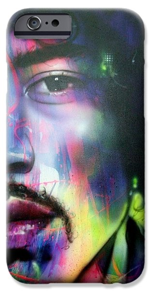 'Can You Hear Me' iPhone Case by Christian Chapman Art