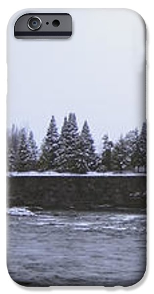 CANADA ISLAND and SPOKANE RIVER iPhone Case by Daniel Hagerman