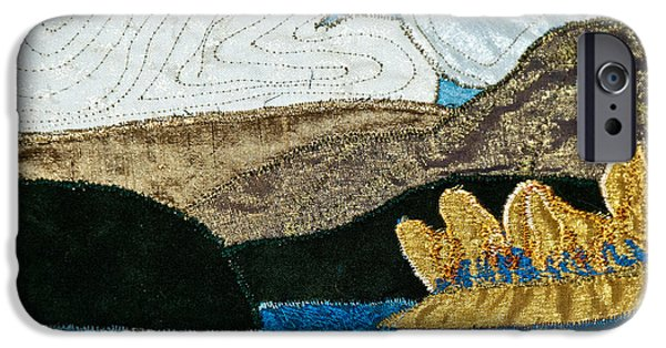 Rural Tapestries - Textiles iPhone Cases - Canada iPhone Case by Susan Macomson