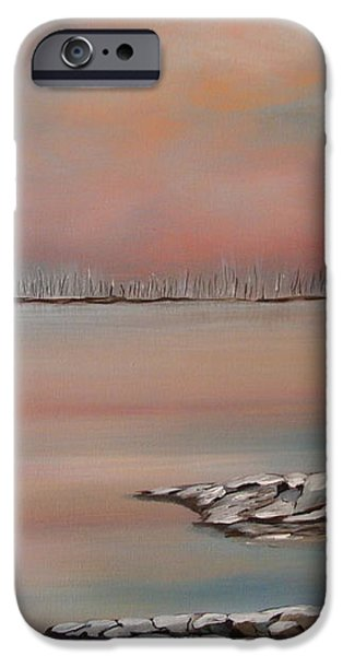 Canadian Northern Reflections iPhone Case by Beverly Livingstone