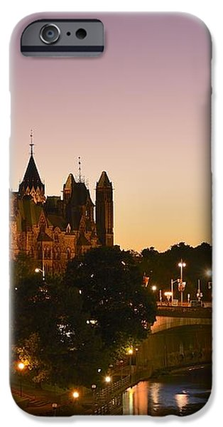 Canadian Parliament Buildings iPhone Case by Tony Beck
