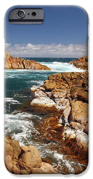 Recently Sold -  - Alga iPhone Cases - Canal Rocks 2AM-113689 iPhone Case by Andrew McInnes