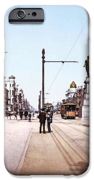 Canal Street New Orleans 1900 iPhone Case by Unknown