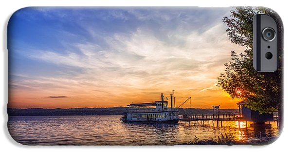 Canandaigua Lake iPhone Cases - Canandaigua Lady iPhone Case by Mark Papke