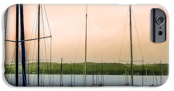 Canandaigua Lake iPhone Cases - Canandaigua Lake iPhone Case by Ken Marsh