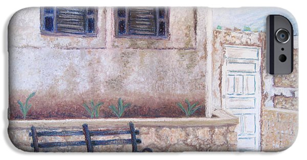 Alley Pastels iPhone Cases - Cancun iPhone Case by Lillian Brue