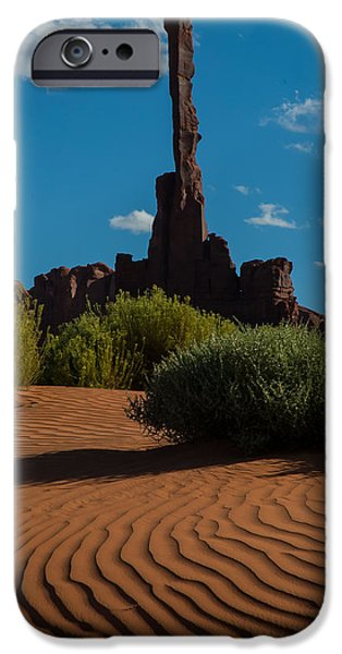 Nation iPhone Cases - Candle in the Sand iPhone Case by George Buxbaum