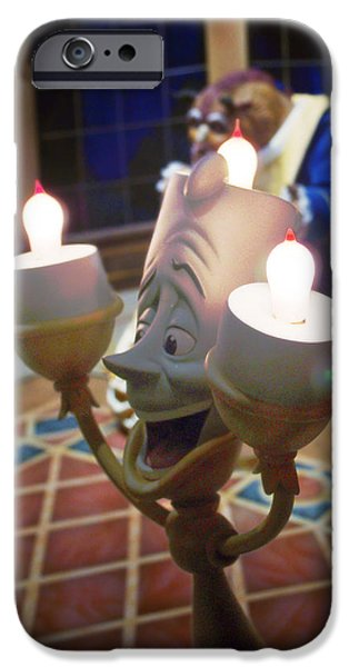Candle light iPhone Case by Ryan Crane